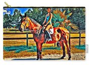 Barn Horse Two Carry-all Pouch