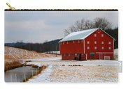 Barn In Berlin Ohio Carry-all Pouch