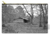 Barn In Black Carry-all Pouch
