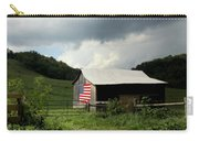 Barn In The Usa Carry-all Pouch by Karen Wiles