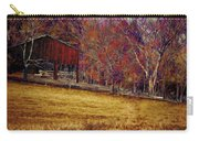 Barn In The Woods-featured In Barns Big And Small Group Carry-all Pouch