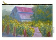 Barn In Vineyard Carry-all Pouch