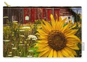 Barn Meadow Flowers Carry-all Pouch