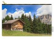 barn on Alpine pasture Carry-all Pouch