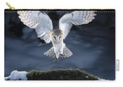 Barn Owl Landing Carry-all Pouch