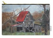 Barn - Red Roof - Autumn Carry-all Pouch