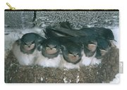 Barn Swallows Carry-all Pouch by Hans Reinhard