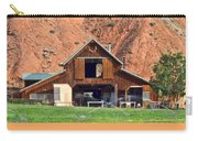 Barn Ten Sleep Wyoming Carry-all Pouch