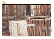 Barn Wood Carry-all Pouch
