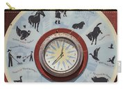 Barn Yard Clock Carry-all Pouch