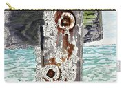 Barnacles And Rust Carry-all Pouch