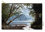 Barnes Creek At Lake Crescent - Washington Carry-all Pouch