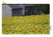 Barns And Sunflowers Carry-all Pouch