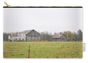 Barns In The Mist Carry-all Pouch