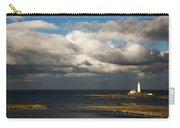 Barns Ness Lighthouse  East Lothian Carry-all Pouch