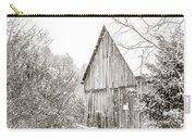 Barnyard Snowfall Carry-all Pouch