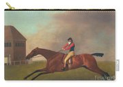 Baronet With Sam Chifney Up Carry-all Pouch