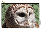 Barred Owl 2 Carry-all Pouch