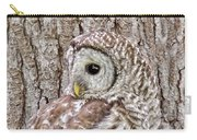 Barred Owl Camouflage Carry-all Pouch