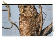 Barred Owl Okefenokee Swamp Georgia Carry-all Pouch