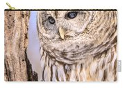 Barred Owl Watch Carry-all Pouch