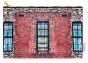 Barred Windows On Brick Carry-all Pouch