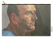 Barry, 2008 Oil On Canvas Carry-all Pouch