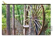 Berry College's Old Mill - Square Carry-all Pouch