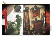 Barry Sadler And Part Of His Weapon's  Nazi Memorabilia Collection Collage Tucson Arizona 1971-2013 Carry-all Pouch