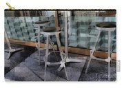 Barstools - Before The Night Begins Carry-all Pouch