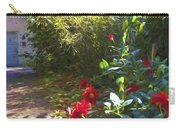 Bartram Red Flowers Carry-all Pouch