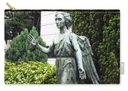 Barzaghi Memorial Side View II Detail Monumental Cemetery Carry-all Pouch