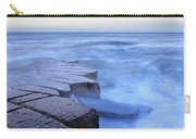 Basalt Rock, Berwick Upon Tweed Carry-all Pouch