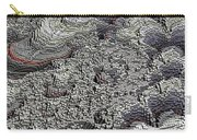 Basalt Topography Carry-all Pouch
