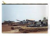 Base Camp Artillery Guns Self-propelled Howitzer M109 Camp Enari Central Highlands Vietnam 1969 Carry-all Pouch