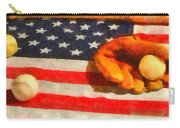 Baseball An American Pastime Carry-all Pouch