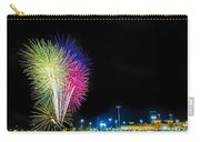 Baseball And Fireworks Carry-all Pouch