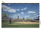 Baseball At Wrigley Field In The 1990s Carry-all Pouch