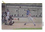 Baseball Batter Contact Digital Art Carry-all Pouch