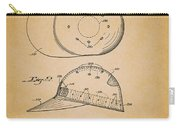 Baseball Cap Patent 1955 Carry-all Pouch