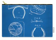 Baseball Construction Patent 2 - Blueprint Carry-all Pouch