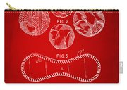 Baseball Construction Patent - Red Carry-all Pouch by Nikki Marie Smith