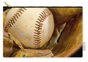 Baseball Has Been Very Good To Me Carry-all Pouch by Don Schwartz