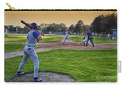 Baseball On Deck Circle Carry-all Pouch
