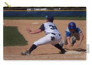 Baseball Pick Off Attempt Carry-all Pouch