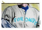 Baseball Player Carry-all Pouch by First Star Art
