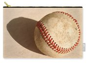 Baseball With Shadow Carry-all Pouch