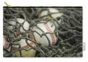 Baseballs And Net Carry-all Pouch