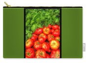Basil Tomato Carry-all Pouch