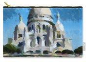 Basilica Sacred Heart- Paris Carry-all Pouch